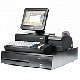 "POS-комплект 8"" PB-3600 черный, LM-2008, PD-2800, CR-4000, KB-6600 MSR,  Windows POSReady 2009"